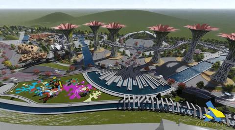 تصميم مشروع حديقة بيئية