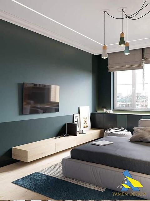 تصميم داخلي لشقة مدرن