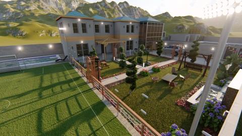تصميم منزل في السعودية