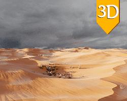 Desert scene - مشهد الصحراء