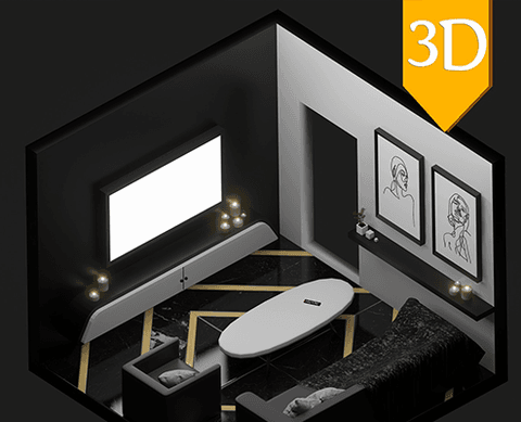 Modern room showcase - عرض غرفة حديثة