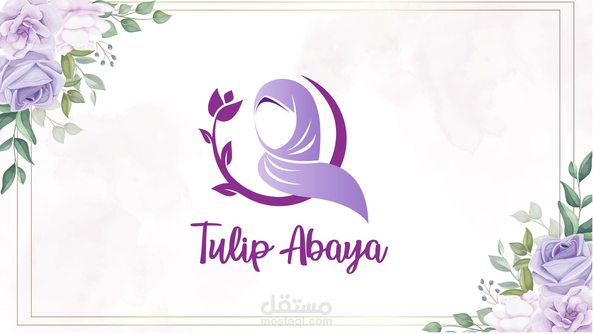 Tulip Abaya Brand Identity Guidline