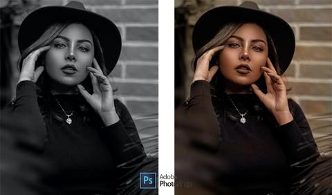 تحويل الصور من ابيض و اسود الي الوان و تحسين جودة الصورة