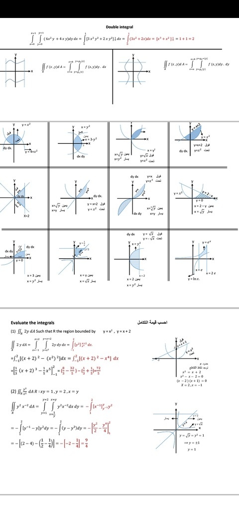 تفريغ مذكرات رياضيات