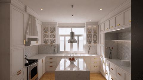 تصميم مطبخ كلاسيك