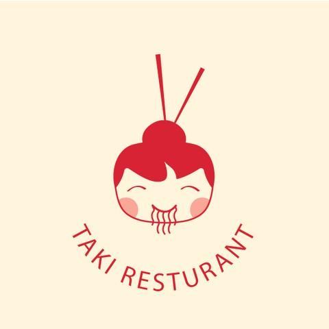 تصميم شعار لمطعم اسيوي